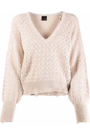 Pinko Suéter con cuello en V
