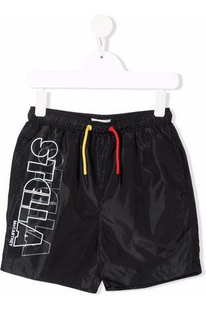 Stella McCartney Logo-print swim shorts