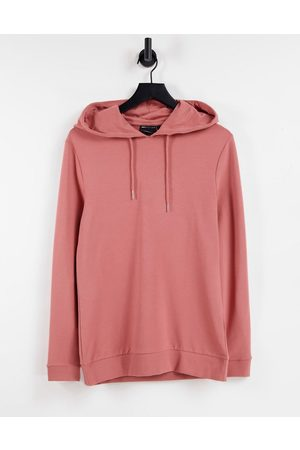 ASOS DESIGN Hombre Con capucha - Organic muscle hoodie in light brown