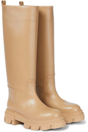 Gia Borghini GIA X PERNILLE TEISBAEK Tubular leather knee-high boots