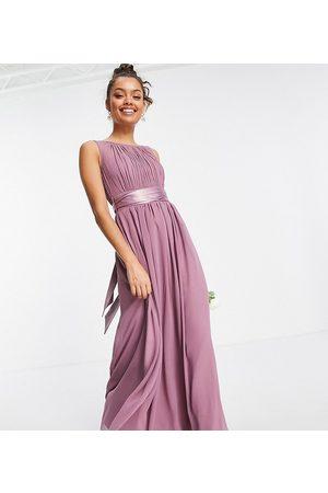 Little Mistress Mujer Vestidos de noche - Bridesmaid maxi dress in mauve
