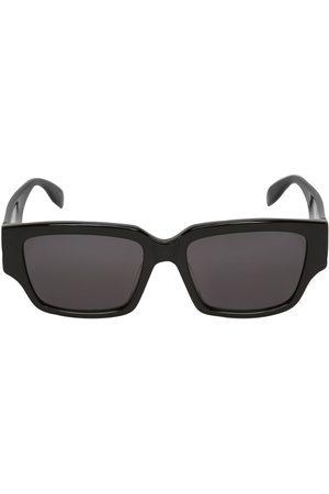 Alexander McQueen Gafas De Sol Cuadradas De Acetato