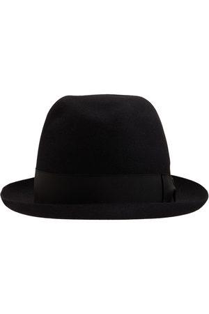 BORSALINO Sombrero Alessandria De Feltro Con Banda De Satén