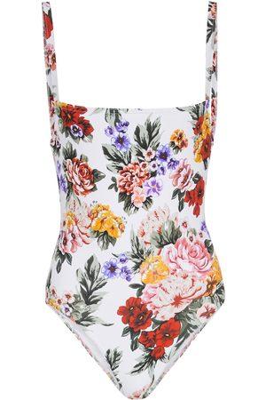 EMILIA WICKSTEAD Scarlett floral swimsuit