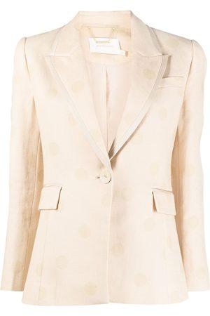 ZIMMERMANN Mujer Sacos - Blazer ajustado con botones