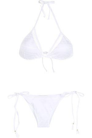 Brigitte Mujer Bikinis - Bikini con cuello halter