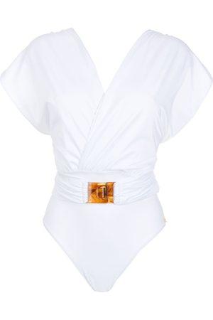 Brigitte Mujer Trajes de baño - Traje de baño con tiras cruzadas