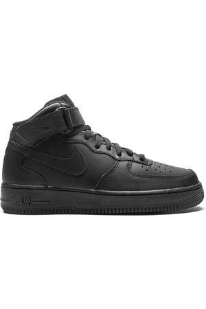 Nike Hombre Tenis - Tenis Air Force 1 Mid '07 2021 Release Triple Black