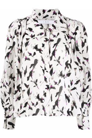 IRO Mujer Camisas - Camisa con estampado abstracto