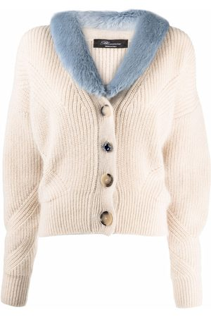 Blumarine Mujer Cárdigans - Cárdigan tejido oversize