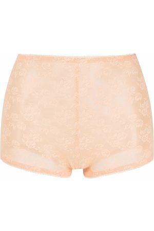 Nº21 Mujer Estampados - Shorts de encaje floral