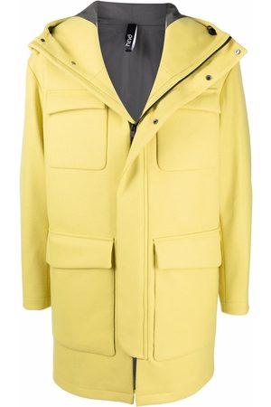 HEVO Hombre Abrigos - Abrigo con capucha y bolsillos