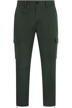 Dolce & Gabbana Hombre Cargo - Pantalones cargo con trabillas