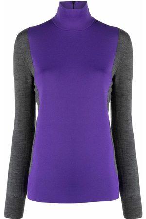 Plan C Suéter con diseño color block