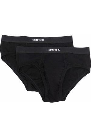 TOM FORD Pack de dos piezas de ropa interior con logo