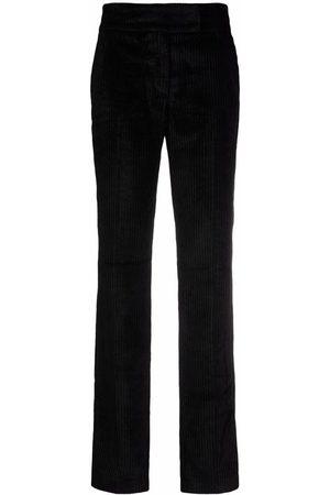 Fabiana Filippi Mujer Pantalones y Leggings - Pantalones de pana con tiro alto