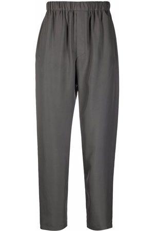 LEMAIRE Hombre De vestir - Pantalones de seda con pretina elástica