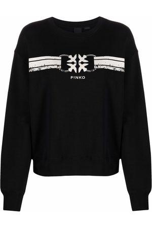 Pinko Suéter con logo estampado