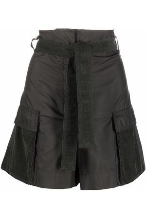 Kenzo Shorts cargo con tiro alto