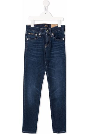 Ralph Lauren Niño Jeans - Jeans con tiro alto