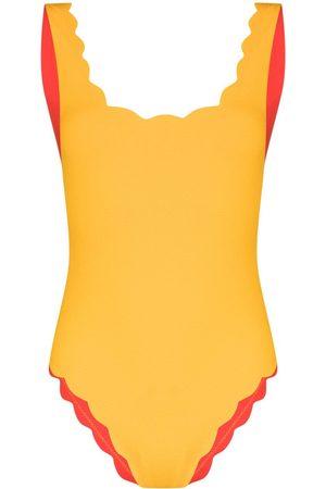 Marysia Mujer Trajes de baño completos - Bañador Palm Springs festoneado