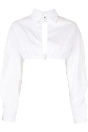 DION LEE Mujer Camisas - Camisa corta con aberturas