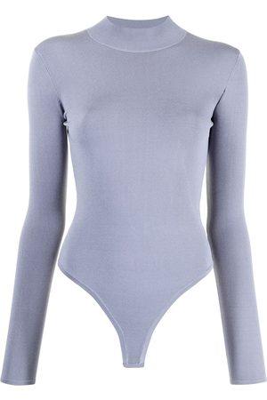 DION LEE Mujer Body - Open-back longsleeved bodysuit