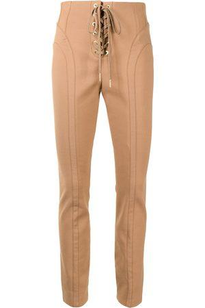 DION LEE Pantalones slim con cordones