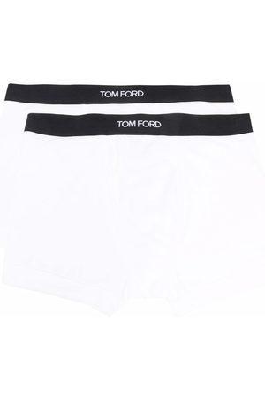 Tom Ford Hombre Boxers y trusas - Pack de 2 calzoncillos con logo en la cinturilla
