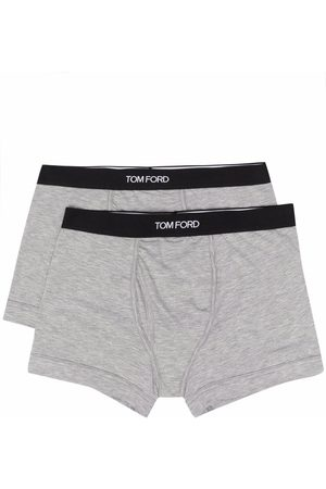 Tom Ford Pack de 2 bóxeres con logo en la cinturilla