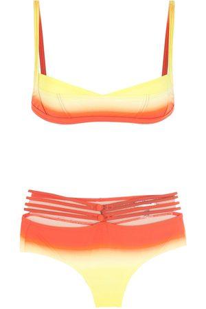 AMIR SLAMA Bikini de dos tonos