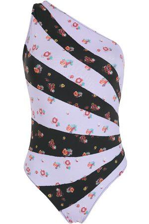 AMIR SLAMA Mujer Trajes de baño - Traje de baño con un hombro descubierto