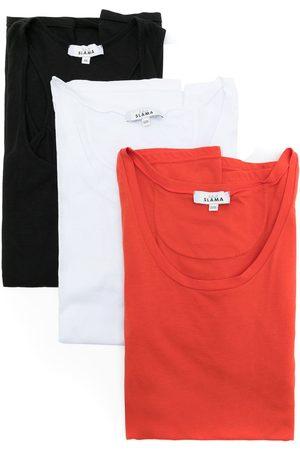 Amir Slama Set de tres camisetas