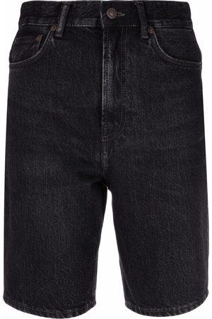 Acne Studios Pantalones vaqueros cortos de talle alto