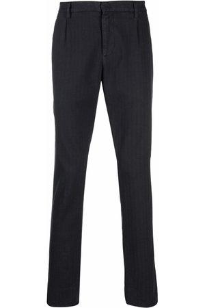 Dondup Hombre Pantalones y Leggings - Pantalones rectos con estampado de espiga
