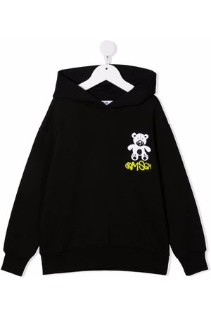 Msgm Niño Con capucha - Hoodie con logo estampado