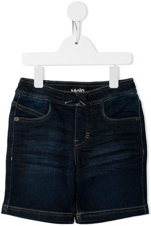 Molo Pantalones vaqueros cortos con logo