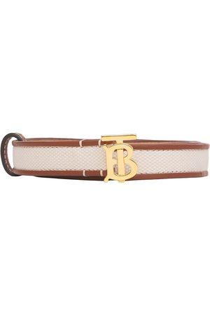 Burberry Mujer Cinturones - Cinturón con monograma