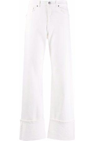 P.a.r.o.s.h. High-rise straight-leg jeans