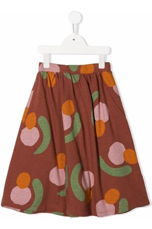 Bobo Choses Niña Faldas - Falda plisada con estampado abstracto