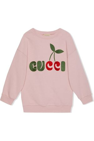 Gucci Niña Vestidos - Vestido Gucci con cerezas estampadas