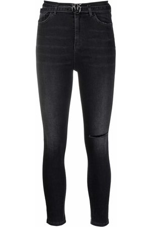 Pinko Mujer Skinny - Skinny jeans con tiro alto