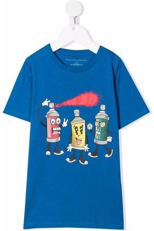Stella McCartney Camiseta con estampado gráfico