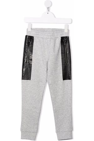 Stella McCartney Niño Pantalones y Leggings - Pantalones de chándal con panel en contraste
