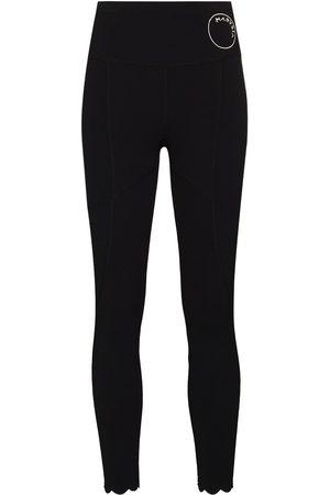 Marysia Mujer Leggings - Naomi scallop-hem leggings