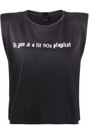 Pinko Camiseta con eslogan estampado