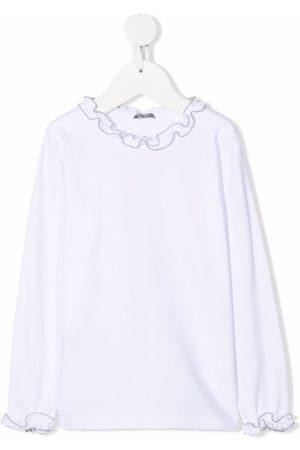 Il gufo Ruffle-embellished shirt