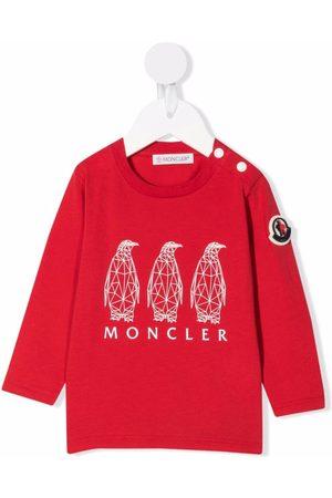 Moncler Sudaderas - Graphic-print cotton sweatshirt