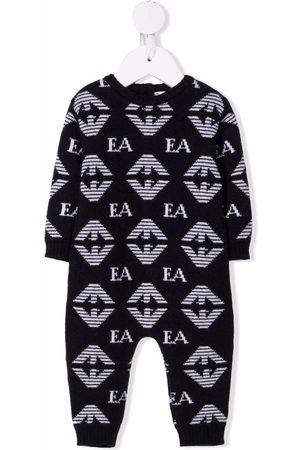 Emporio Armani Pijamas - Monogram-intarsia pajamas