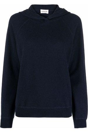 P.a.r.o.s.h. Mujer Suéteres - Jersey de cashmere con capucha